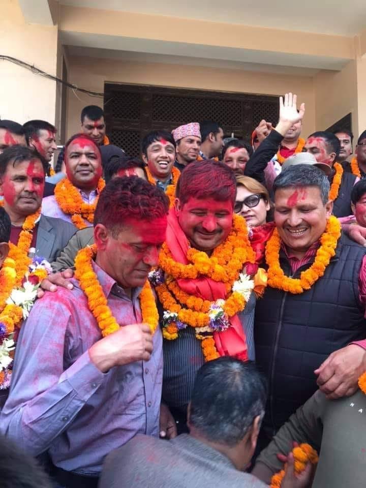 नेपाल पत्रकार महासंघको अध्यक्षमा विपुल पोखरेल विजयी
